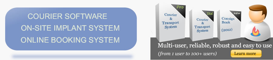 courier software system